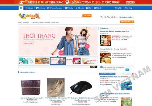 enbac 10 Website mua bán trực tuyến hàng đầu tại Việt Nam
