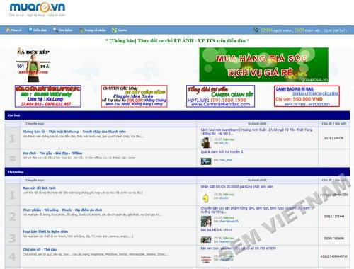 muare 10 Website mua bán trực tuyến hàng đầu tại Việt Nam
