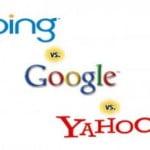 Yahoo và Bing vẫn 'lẽo đẽo' chạy sau Google