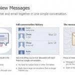 Hệ thống tin nhắn mới của Facebook: không chỉ là email