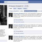 Nữ hoàng Anh gia nhập mạng Facebook