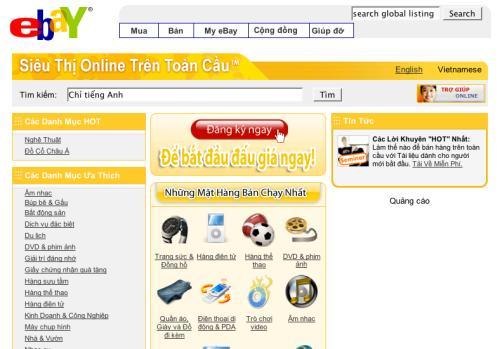 ebay vietnam Loạn phí dịch vụ mua hàng từ nước ngoài