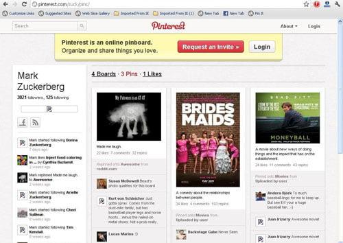 Mark Zuckerberg trên Pinterest