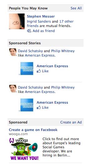 sponsored stories Facebook : 3 hình thức quảng cáo chính